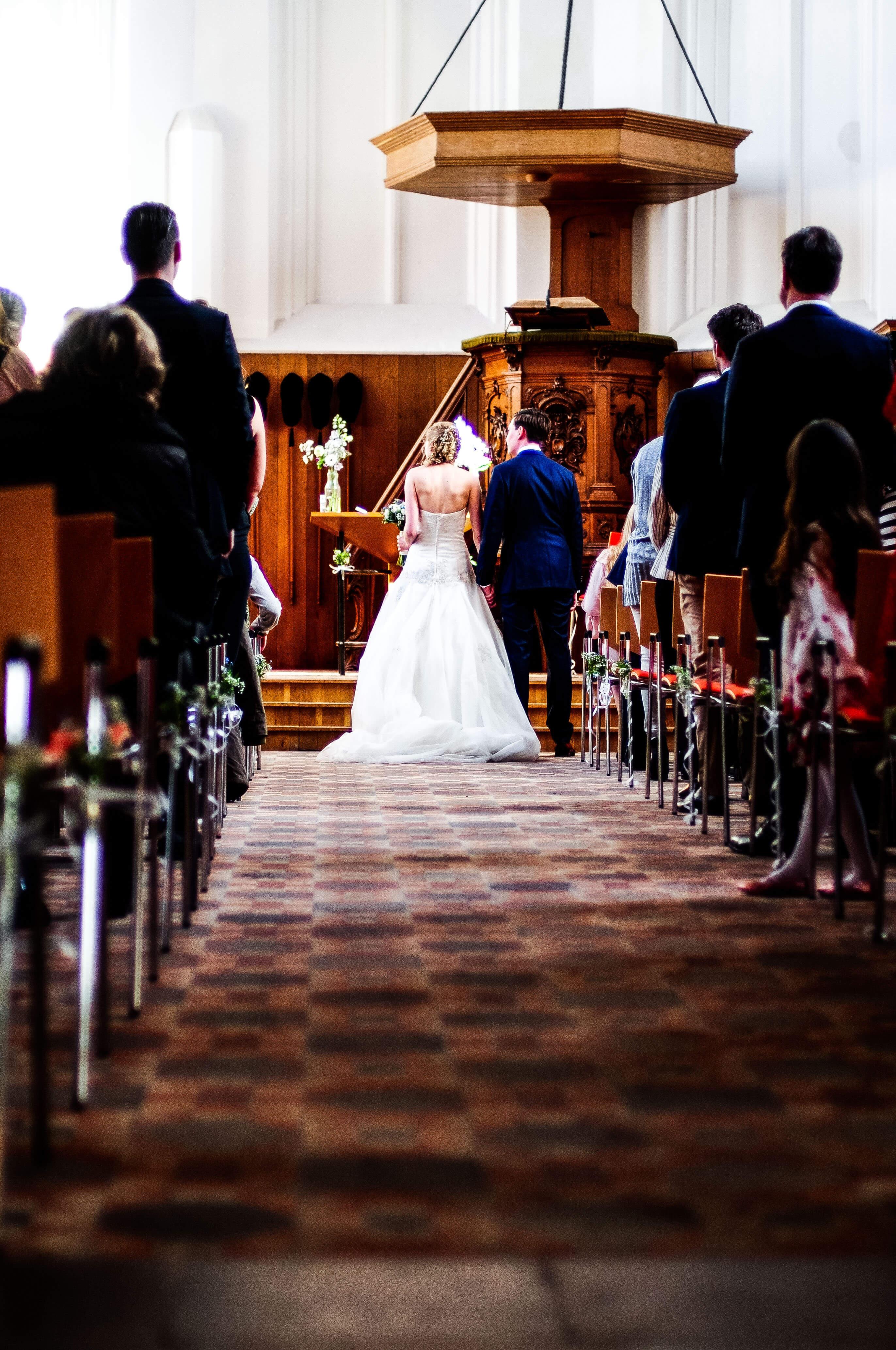 Bruiloft Ruïnekerk Bergen NH